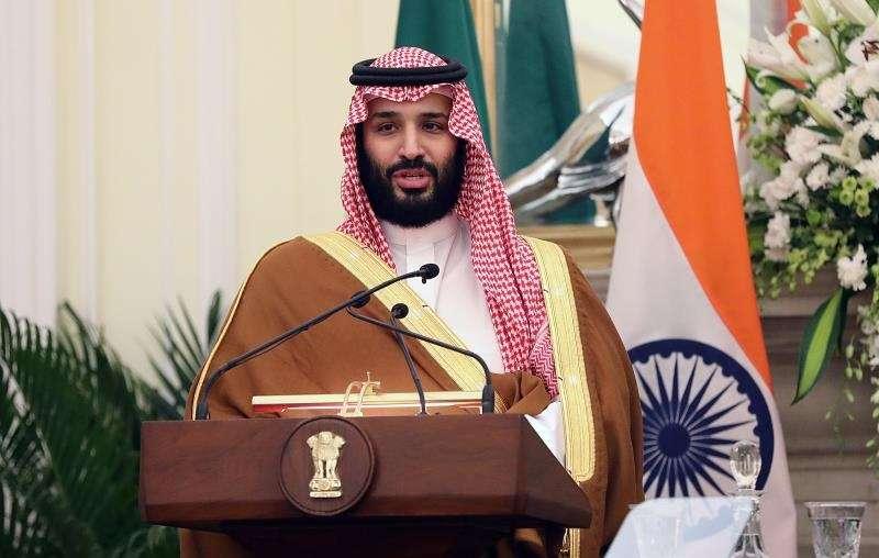 El príncipe heredero saudí, Mohamed bin Salman. EFEArchivo