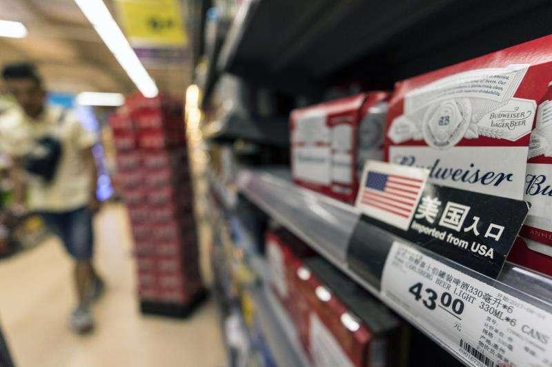 Productos importados de Estados Unidos en una tienda en Guangzhou, China. EFEArchivo