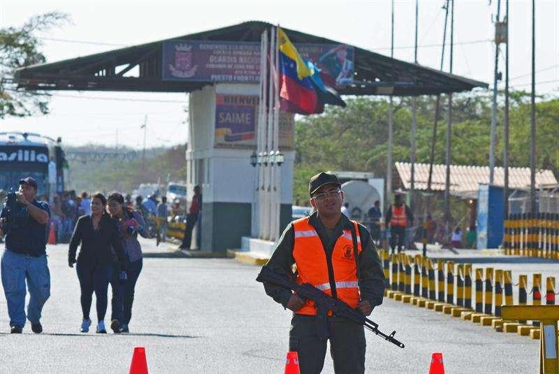 Colombia y Brasil son fronterizos con Venezuela, al igual que Perú, Ecuador, Chile, Argentina, Panamá y República Dominicana. Foto: EFE