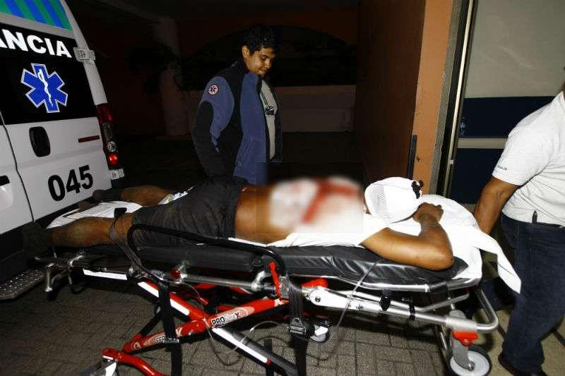 Las autoridades investigan el hecho para ubicar al agresor y determinar la causa del suceso. Foto: Alexander Santamaría
