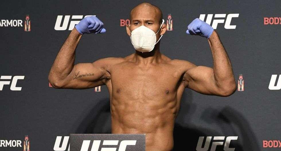 El luchador brasileño de artes marciales mixtas Ronaldo Jacare Souza.