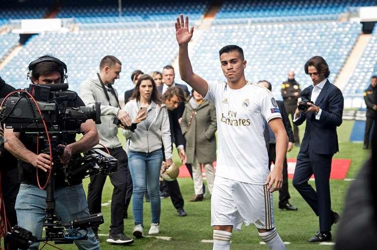 El centrocampista brasileño Reinier Jesus Carvalho, de 18 años, nuevo jugador del Real Madrid. Foto: EFE