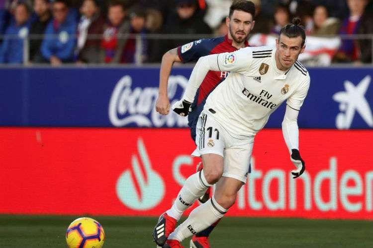 Gareth Bale anotó el gol del triunfo para el Real Madrid. Foto: EFE