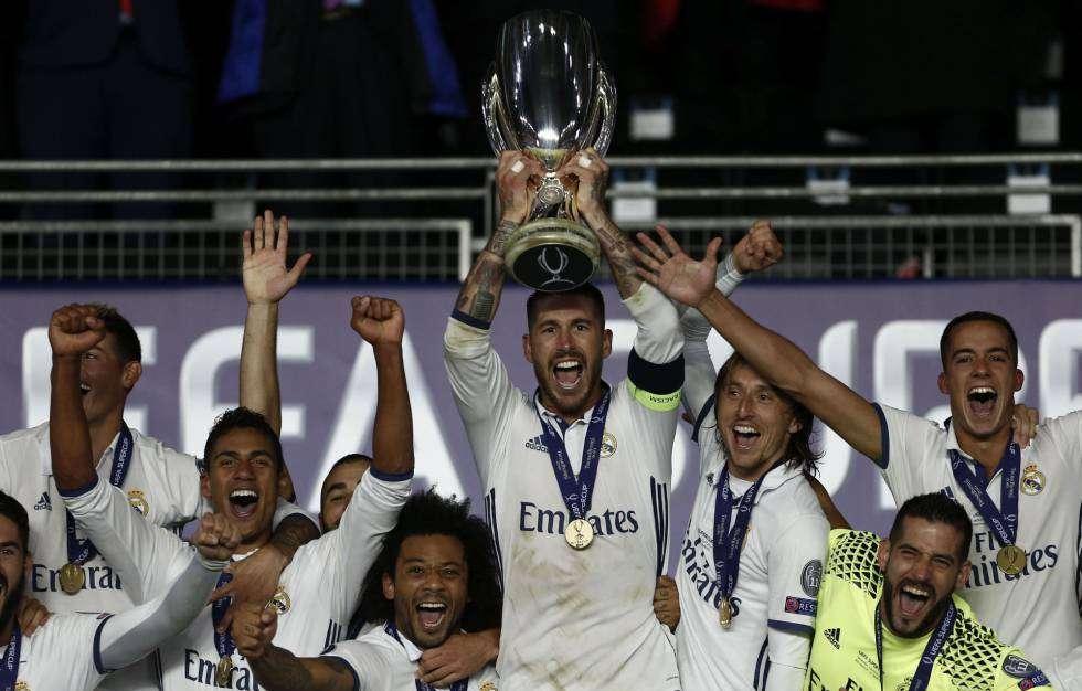 Los madridistas buscan revalidar el título de Europa por cuarto año consecutivo. /EFE