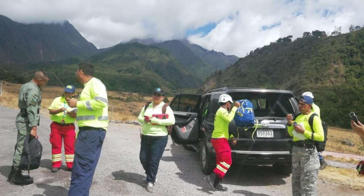 Vista general del área del rescate. Foto: Mayra Madrid