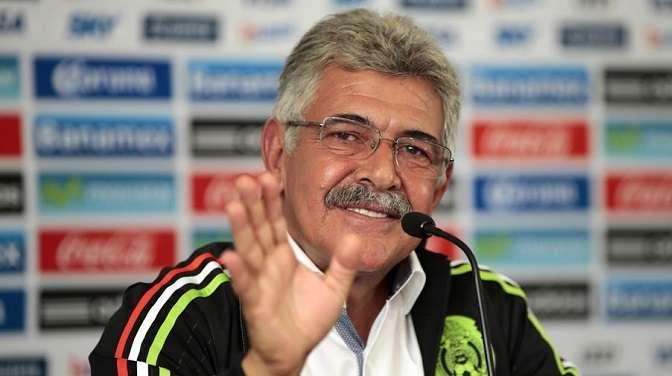 """Ricardo """"Tuca"""" Ferretti en la rueda de prensa de su presentación como técnico interino de la selección mexicana de fútbol./EFE"""