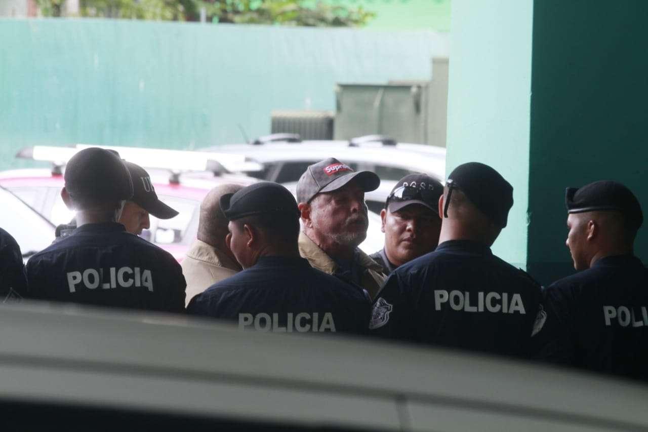 El exmandatario Ricardo Martinelli, fue trasladado a la sede del SPA e ingresó a eso de las 8:45 a.m. Foto: Edwards Santos
