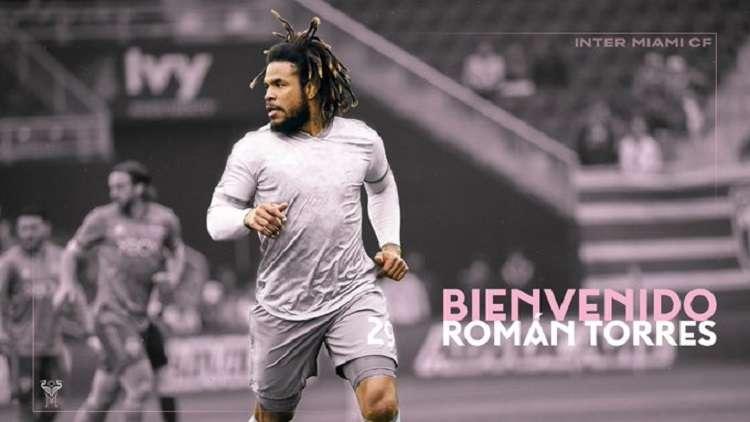 Con esta imagen el Inter Miami FC le dio la bienvenida al jugador panameño. Foto: Twitter