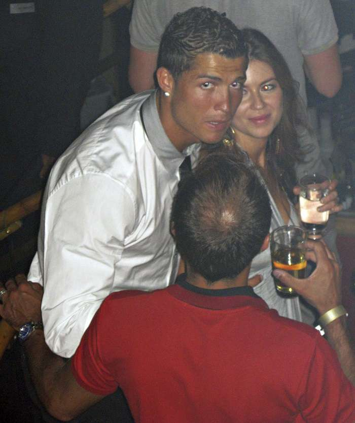 Fotografía de Cristiano Ronaldo junto a Kathryn Mayorga tomada en el 2009, en Las Vegas, Nevada. /AP