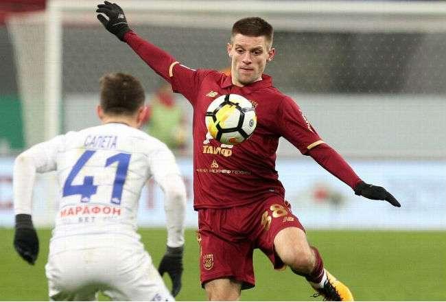 El jugador ruso Ruslan Kambolov.