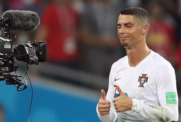 Cristiano Ronaldo y Portugal fueron eliminados por Uruguay en octavos de final. /  AP