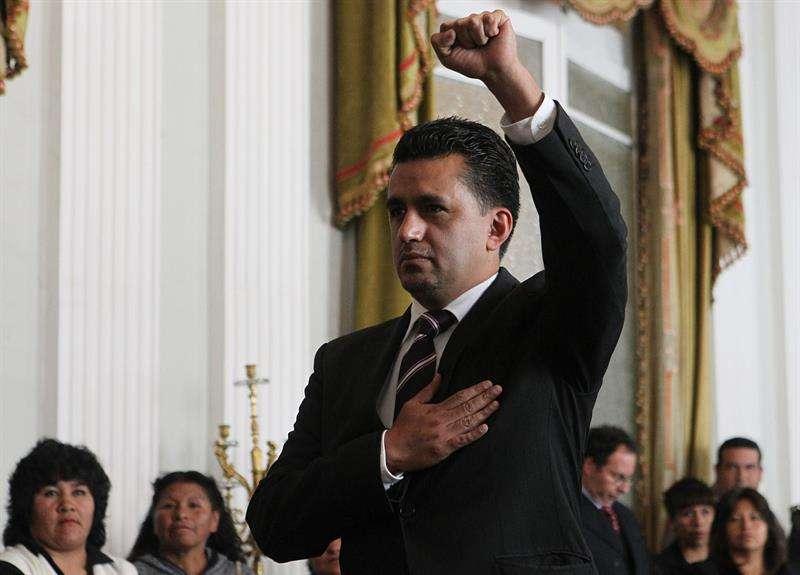 Sacha Llorenti, nuevo embajador de Bolivia ante Naciones Unidas. EFEArchivo