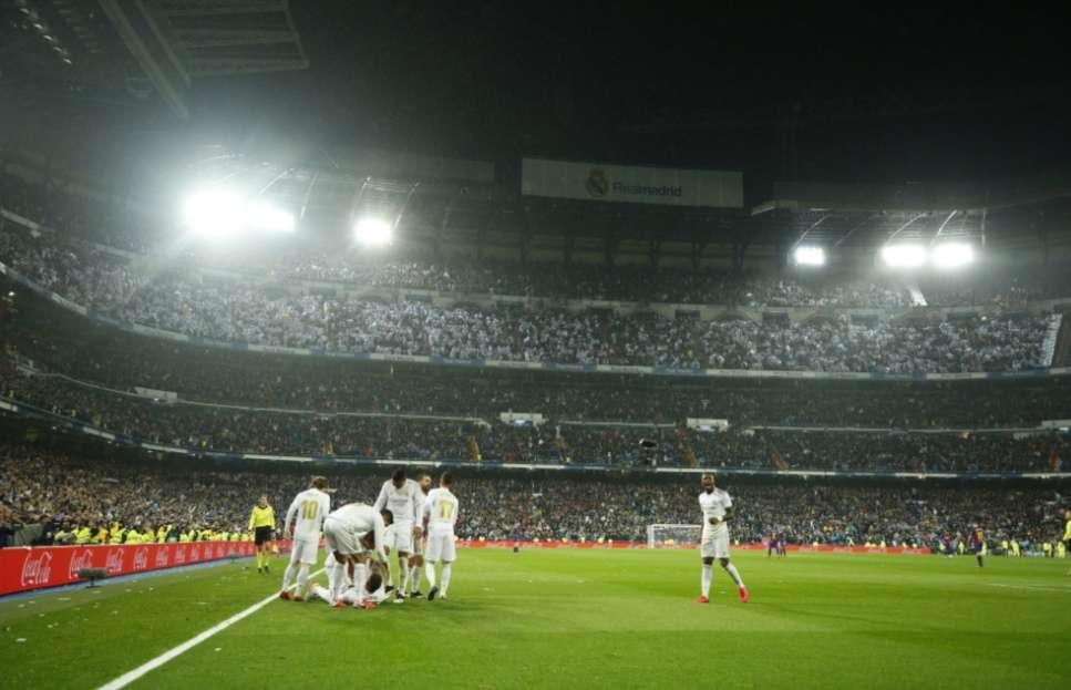 Estadio Santiago Bernabéu /AP