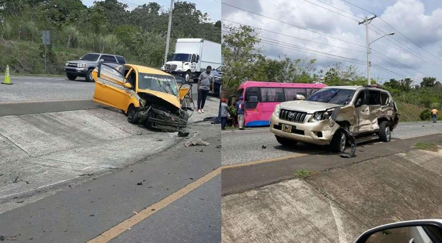 El Cuerpo de Bomberos de Panamá, cuyo personal se presentó al lugar a auxiliar a las víctimas, en el autobús viajaban 30 pasajeros de los cuales 7 resultaron heridos. Foto: @BCBRP