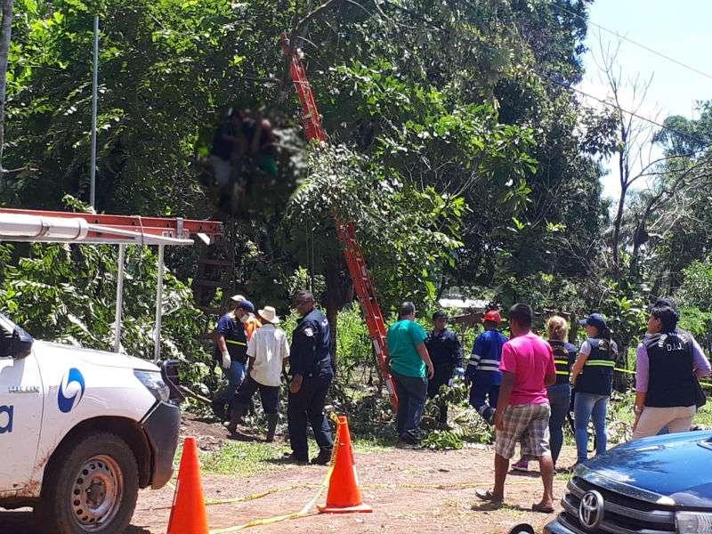 Vista general del área en donde ocurrió el suceso. Foto: Melquiades Vásquez