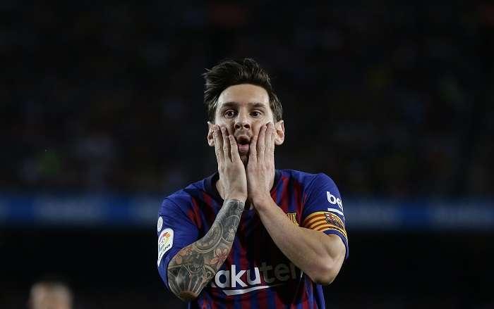 Lionel Messi, capitán del FC Barcelona. /AP