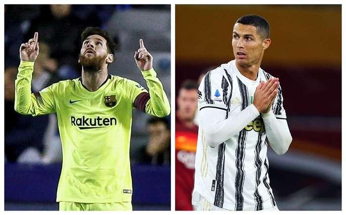 Messi y Cristiano. /EFE