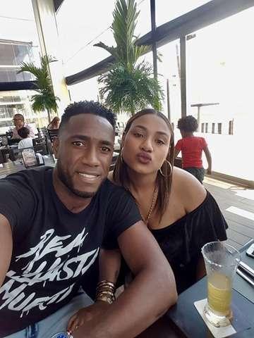 Luis Tejada junto a su amada esposa. Foto: Cortesía