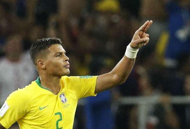 El jugador brasileño Thiago Silva. Foto: AP