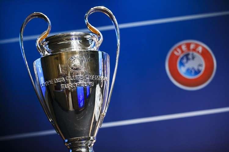 Trofeo de la Liga de Campeones. Foto: EFE