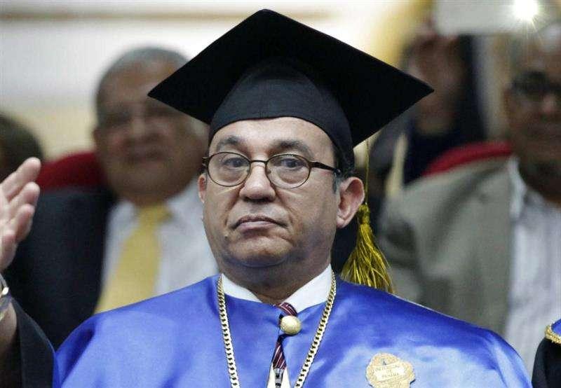Rector de la Universidad de Panamá, Eduardo Flores. Foto: EFE