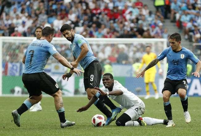 Uruguay quedó eliminado en los cuartos de final ante Francia.
