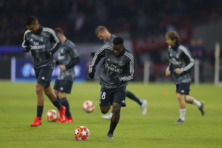Vinicius, jugador del Real Madrid. Foto: AP