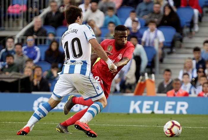 Vinicius Jr, jugador del Real Madrid. /EFE