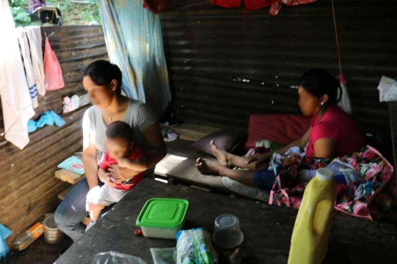 Vista general del área en donde residen los familiares del agresor. foto: Melquiades Vásquez