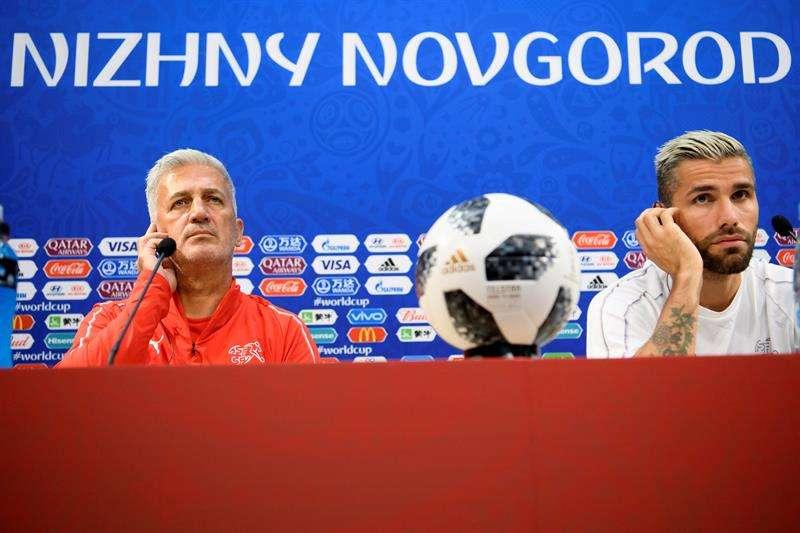 """Pétkovic: """"Lo que ha pasado, pasado está: hay que centrarse en el fútbol"""". Foto EFE"""