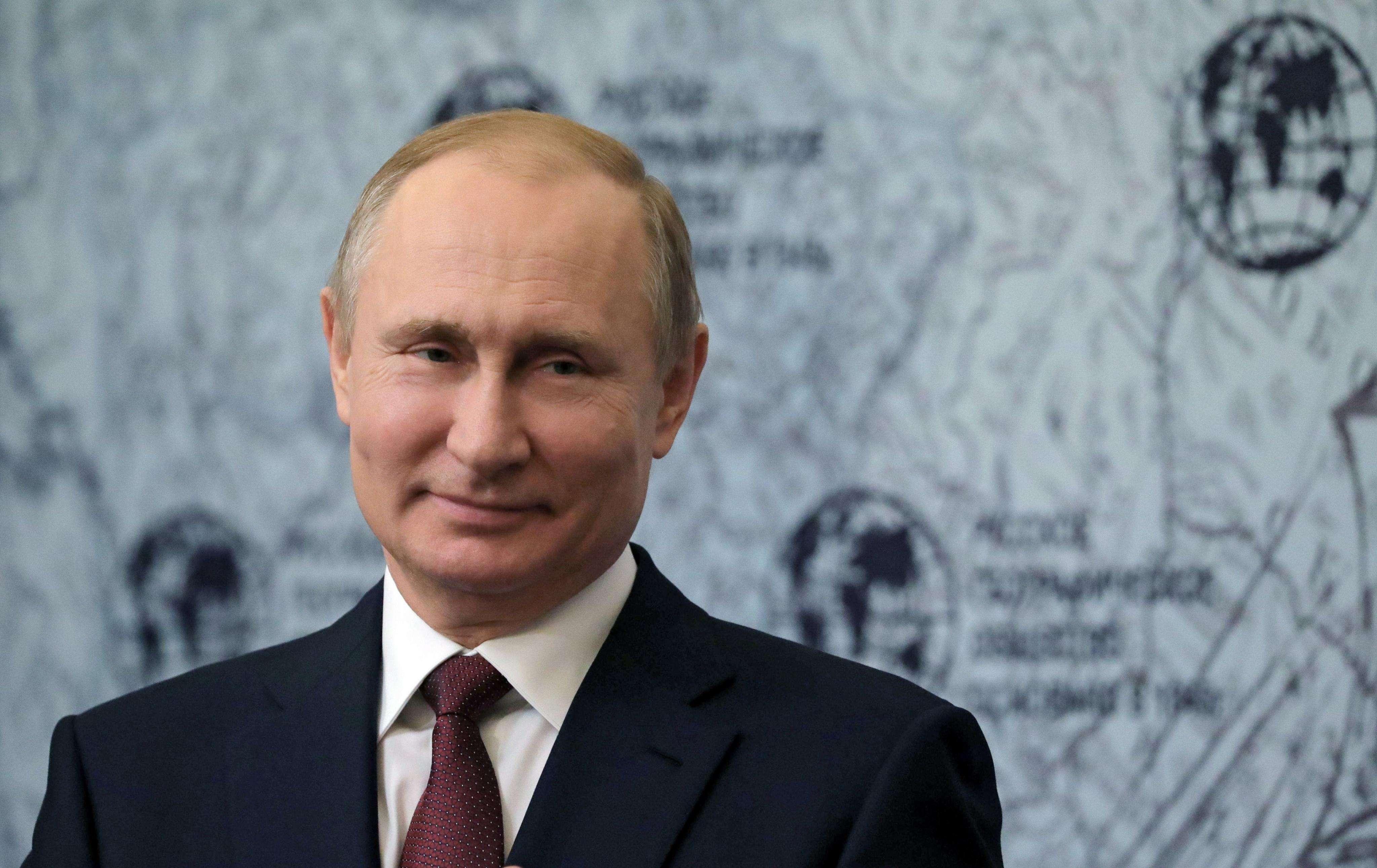 El presidente ruso, Vladímir Putin. Foto: EFE