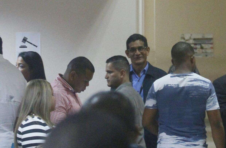 Las siete personas se presentaron a la audiencia en el Sistema Penal Acusatorio.