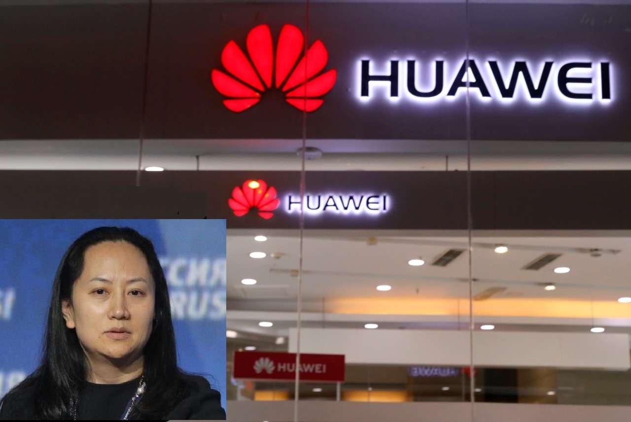 Registró a la presidenta financiera de la firma tecnológica china Huawei, Meng Wanzhou. Fotocombinación EFE/AP