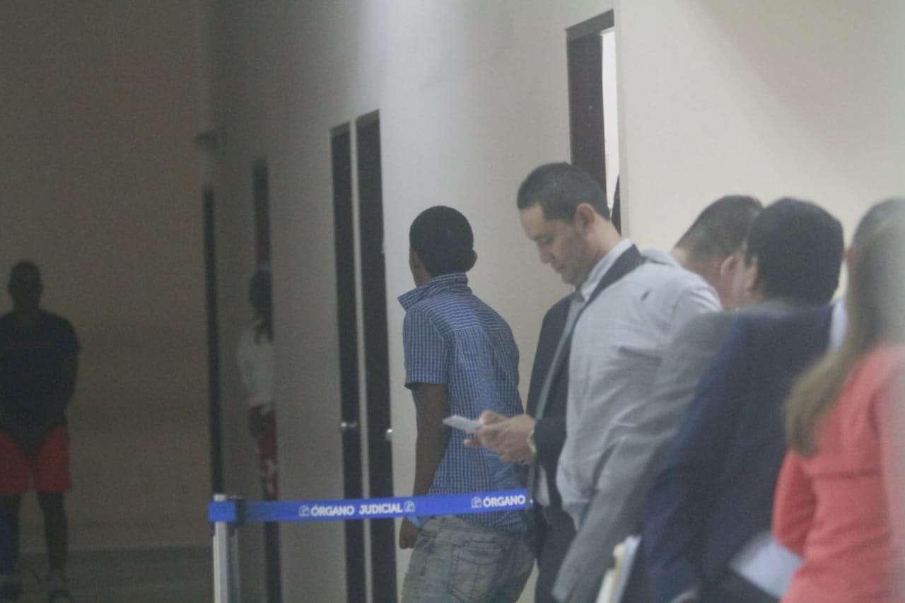 El hombre se presentó a una audiencia del Sistema Penal Acusatorio.  Foto: Edwards Santos