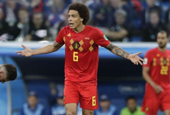 Axel Witsel es uno de los jugadores con más experiencia en la selección belga.