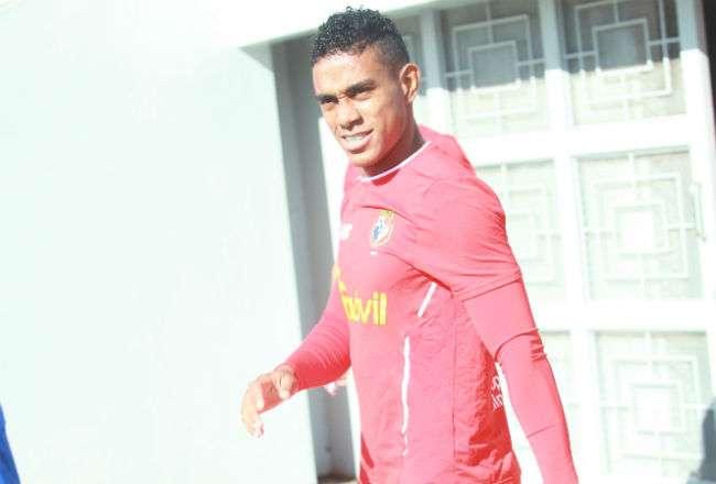 El jugador panameño  Édgar Yoel Bárcenas. Foto: Anayansi Gamez