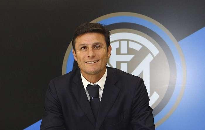Javier Zanetii jugó con el Inter y fue campeón de la Champions League./@Inter