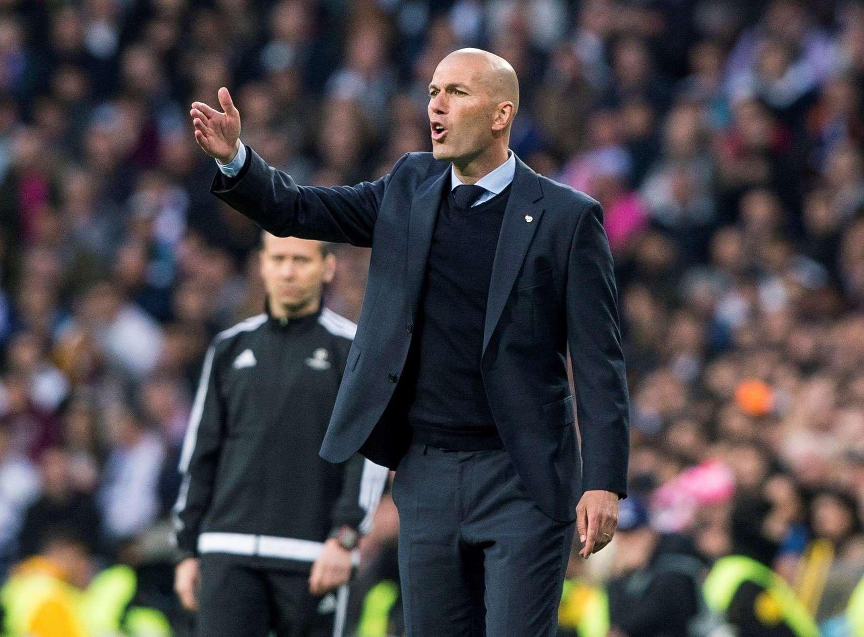 Zinedine Zidane, técnico del Real Madrid / EFE