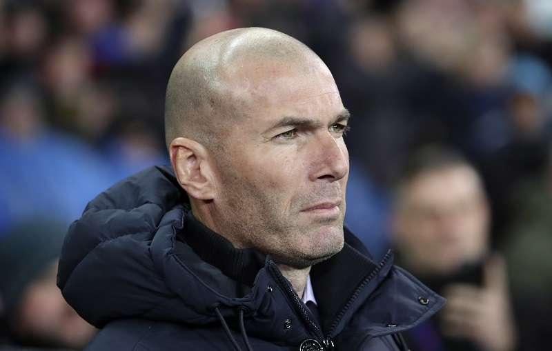 Zinedine Zidane, técnico del Real Madrid. / Foto AP