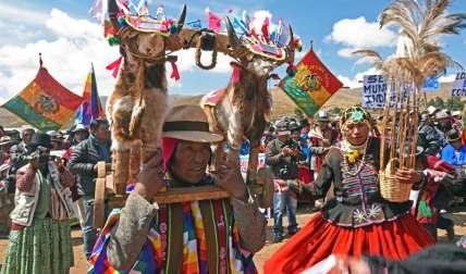 Bolivia enfrenta una crisis por racionamientos de agua debido a la sequía.  /  EFE