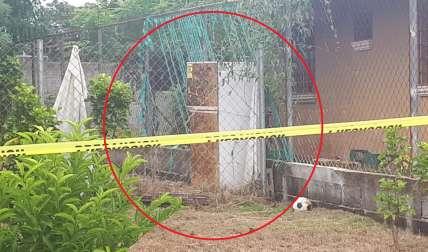 Vista general del lugar del hallazgo del cadáver. Foto: Eric Montenegro