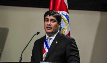 Carlos Alvarado, presidente de la República de Costa Rica