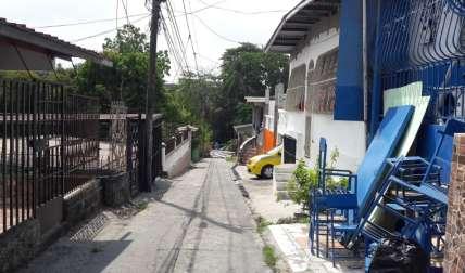 Área donde se dio el incidente. Foto: Jean Carlos Díaz