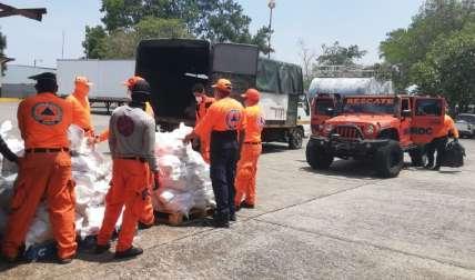 El centro de acopio de las bolsas del programa Panamá Solidario se mantiene en la sede del IMA, en San Pablo Nuevo. José Vásquez
