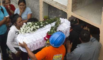 Guatemala se une ante tragedia