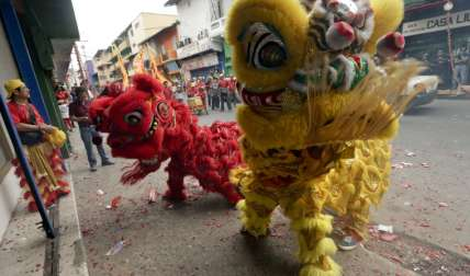 ¡Chinos celebran!