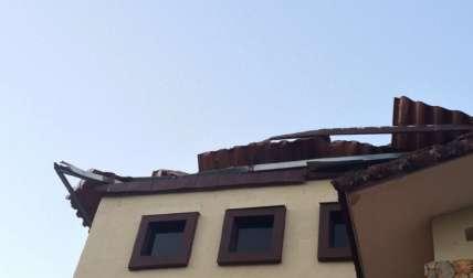 Fuertes vientos afectan viviendas y dejan fuera de acción a potabilizadora