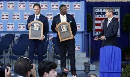 Mike Piazza y Ken Griffey Foto: AP