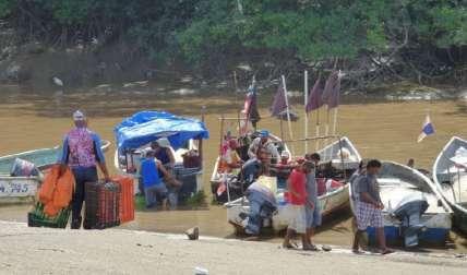 Los pescadores denunciaron que se han repetido los hechos.