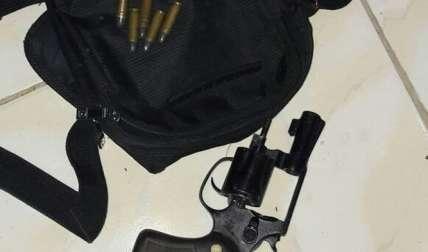 Una de las armas decomisadas en el operativo antipandilla. (Foto: Cortesía)